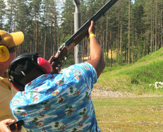 CLAY PIGEON SHOOTING 15 clays