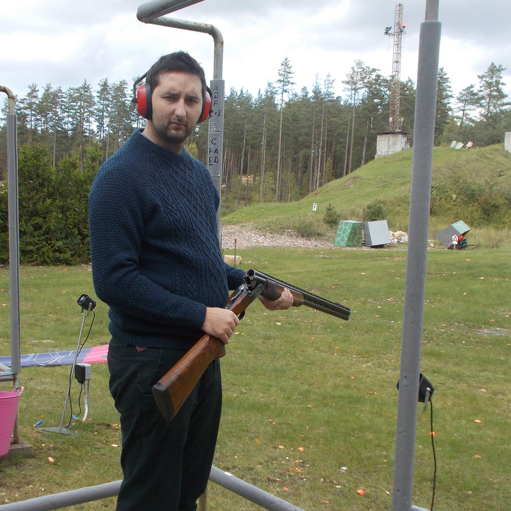 CLAY PIGEON SHOOTING 25 clays in Riga for Stag Party