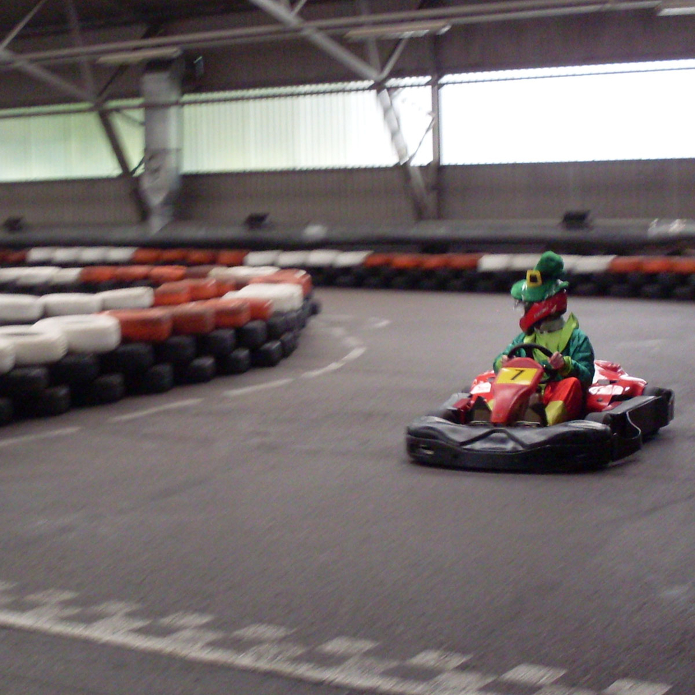 Indoor karting 20 min in Riga for Stag Party