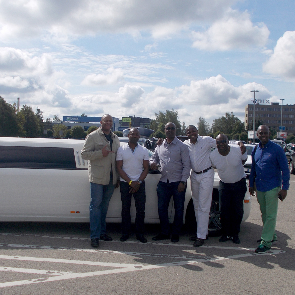 Limo Airport Transfer With Stripper in Riga for Stag Party