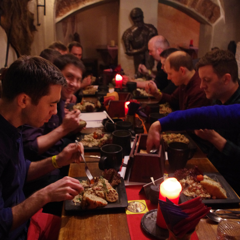 Medieval Dinner in Riga for Stag Party